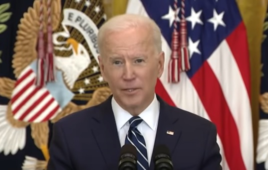 Joe Biden first press conference